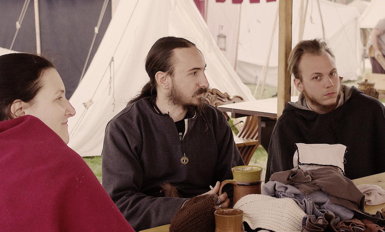 Mittelalterleucht im Gespräch