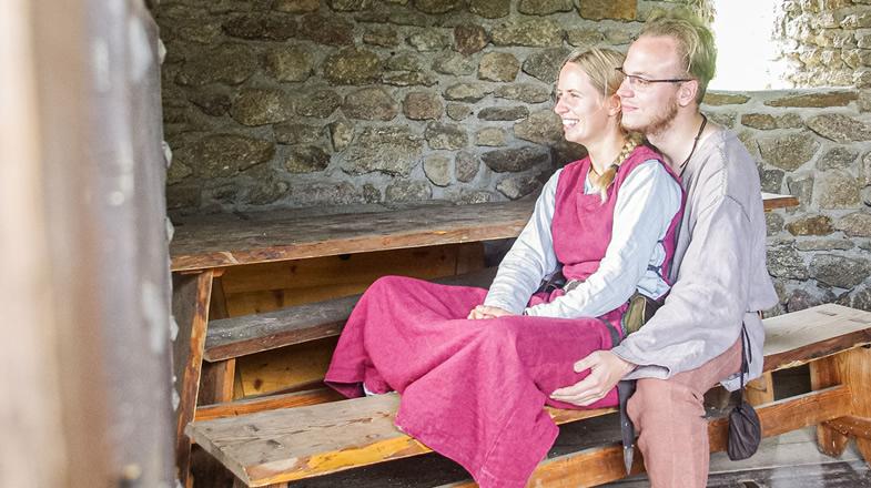 Romatisch: Anna und Benjamin