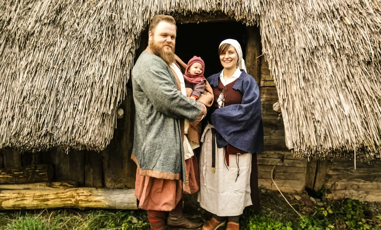 Willkommen im Mittelalter: Mit Marie hat unsere Gruppe Nachwuchs bekommen
