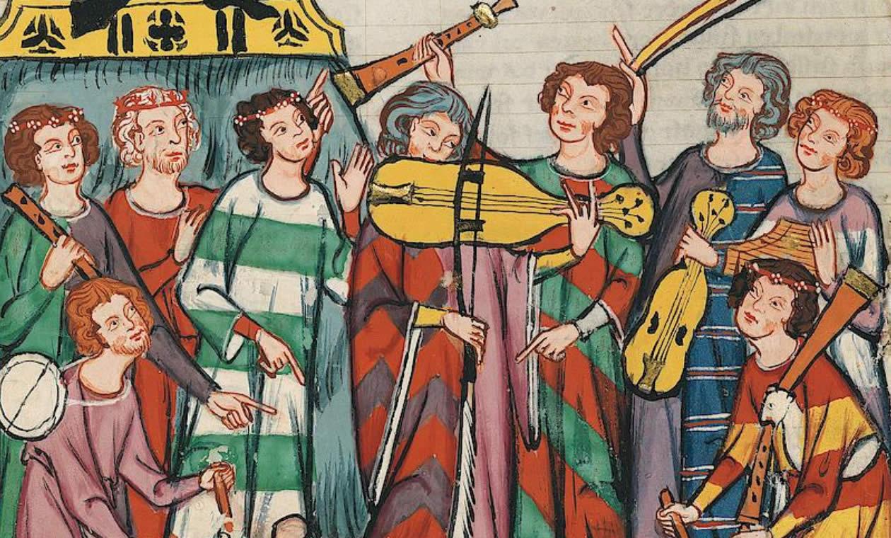 Der Codex Manesse ist die wichtigste Liederhandschrift des Mittelalters