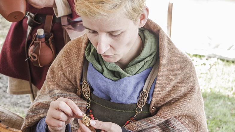 Dorothea beim Viking Knit