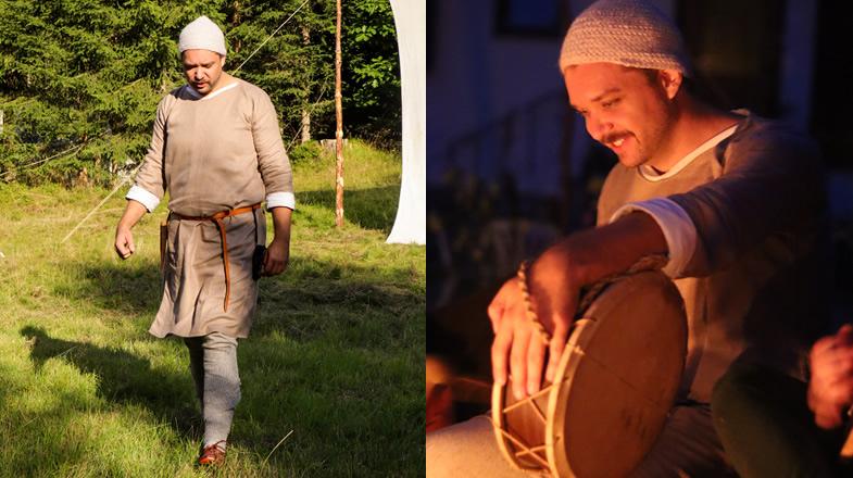 Florian beim Tag und Nacht